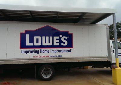 Delivery Truck Wrap Fleet