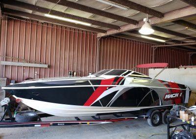 Vehicle Boat Custom Wrap