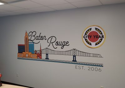 Baton Rouge Wall Decal Wallcovering