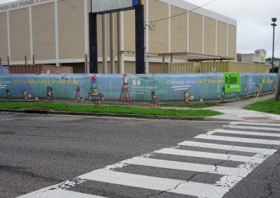 Childrens Hospital fence wrap
