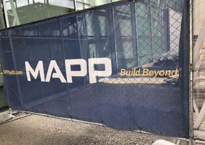 MAPP Fence Wrap WWII Museum