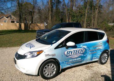 Rytech Vehicle Wrap Fleet Wrap