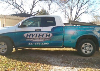 Rytech Vehicle Fleet Wrap