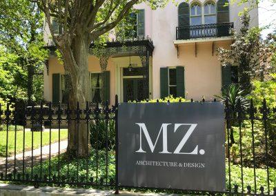 MZ. Architecture Exterior Signage