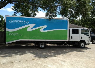 Massengale Delivery Truck Wrap