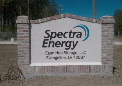 Spectra Energy Custom Exterior Signs