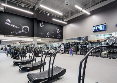 Ochsner Fitness Center Wallcovering