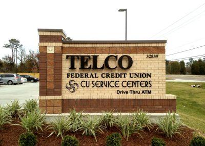 Telco Exterior Custom Signage