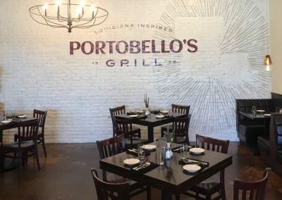 Portobellos Grill Brick Wallcovering